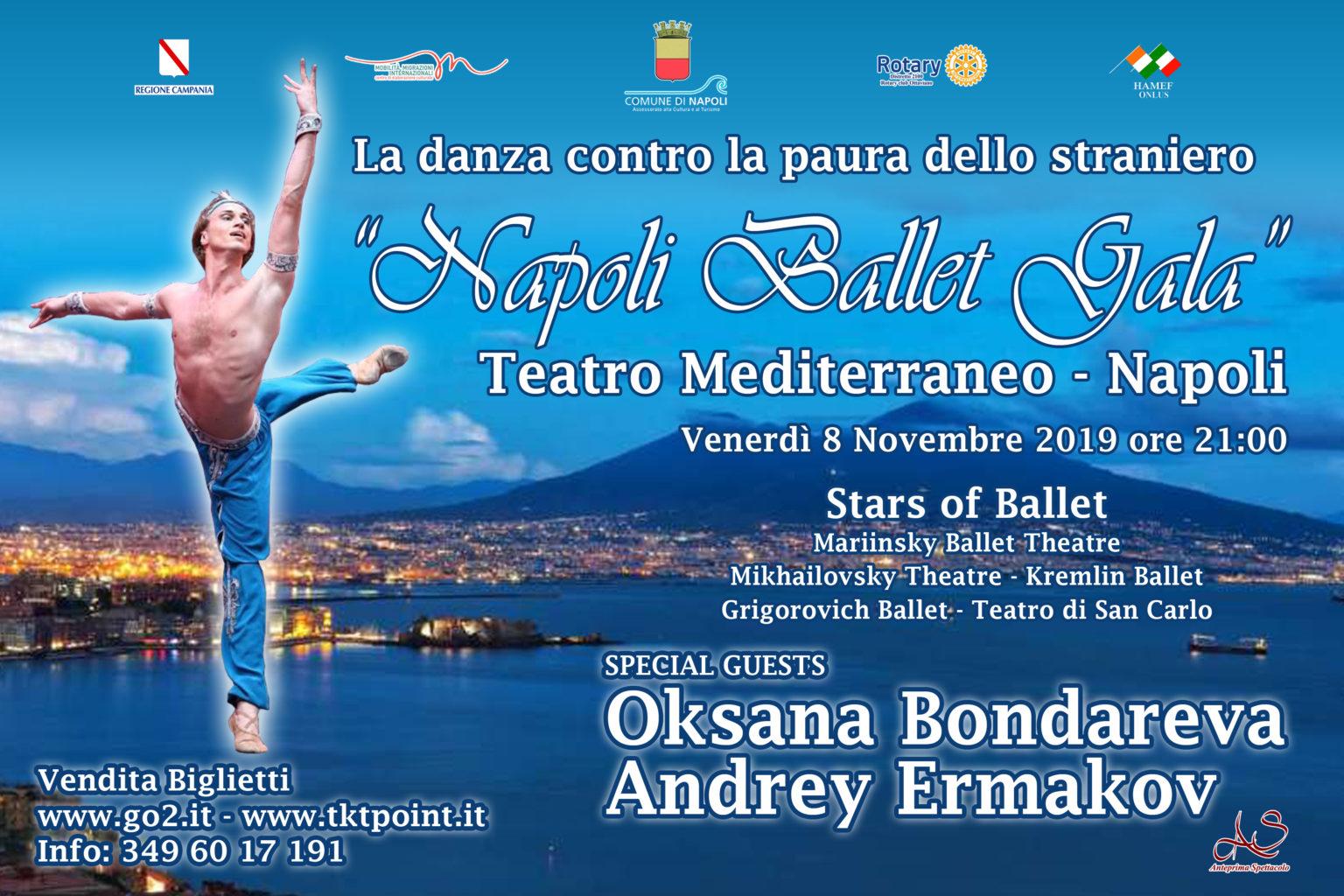 Napoli Ballet Gala - Teatro Mediterraneo