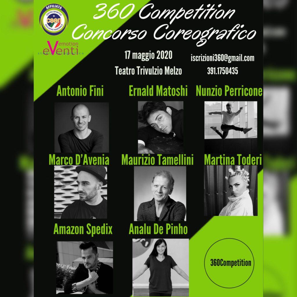 360 Competition - Concorso Coreografico