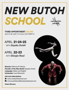 New Butoh School - Third Appointment Online