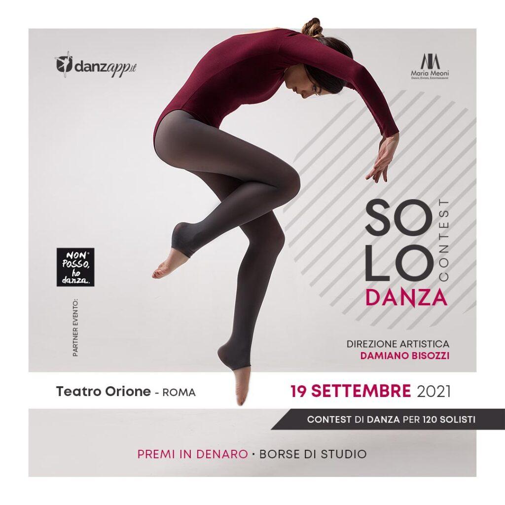 Solo Danza Contest 2021 - Concorso di Danza per Solisti