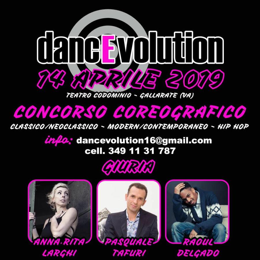 Concorso dancEvolution 14 Aprile 2019